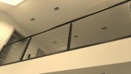 Balustrada wewnętrzna nowoczesna