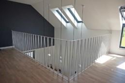 Balustrada wewnętrzna nowoczesna VVV